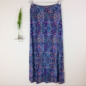 Artisan NY Floral Soft & Comfy Maxi Skirt Size (M)